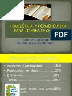Curso Homiletica y Hermeneutica