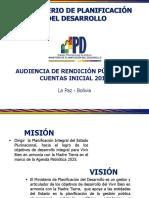 Rendicion de Cuentas MPD 2017