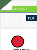 Area Del Circulo Presentación