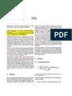 SQL(1)