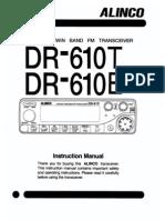 alinco dr 610 service manual rh scribd com Alinco Dr 610 Parts alinco dr 600 manual