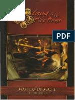 L5R 3rd Ed - Masters of Magic (OCR)