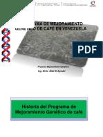 Programa de Mejoraiento Genetico de Cafe en Venezuela - Gabriel Gonzalez  Cafe