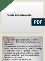 Clase 21 - Teoría Estructuralista (1)