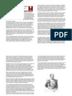 Lectura Sobre El Periodo Del Gobierno de Castilla