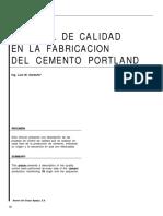 4 Control de Calidad en La Fabricacion Del Cemento Portland