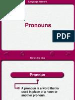 Bahasa Inggris Kelas x (Pronoun)