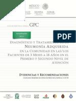 2.- Diagnóstico y tratamiento de la neumonía adquirida en la comunidad en los pacientes de 3 meses a los 18 años  en el primer y segundo nivel de atención.pdf