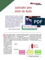 Ecualizador Para Edicion de Audio