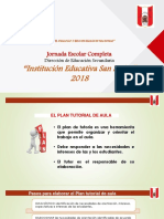 Plan Atencion integral de tutoria 2017