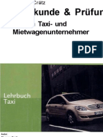 Fachkunde & Prüfung für den Taxi- und Mietwagenunternehmer- Anleitung für ..
