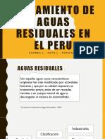 TRATAMIENTO DE AGUAS RESIDUALES EN EL PERU.pptx