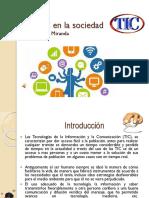 Las TIC en la sociedad2.ppsx