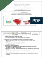 Unidad 1 Introducción Al Programa Sap2000 y Resolución de Ejercicios