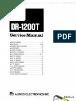 Alinco DR-1200T Service Manual