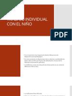 Trabajo individual Con El Niño