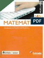 Matemáticas 4 ES - Estrada