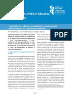 Informes Para La Política Educativa en Chile