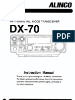 Alinco DX-70 Instruction Manual