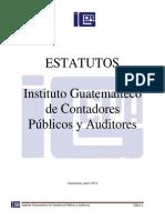 Estatutos IGCPA Modificados 2014 Copia 2