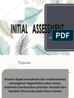 004.Initial Assessment Management 1