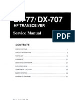 Alinco DX-707 Service Manual