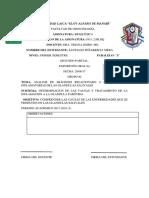 9. Informe de Inflamacion de Glandulas Salivales