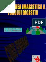 Explorarea imagistica a tublui digestiv