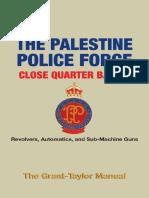 The Palestine Police Force CQB Manual