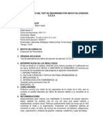 Informe Psicologico de EDDA