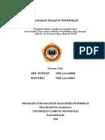 Landasan Filasafat pendidikan222