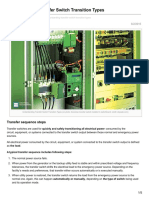 Electrical-Engineering-portal.com-Understanding Transfer Switch Transition Types