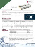 Membrane LG BW 400R