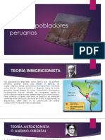 Primeros pobladores peruanos