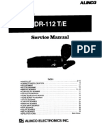 Alinco Old DR-112 Service Manual