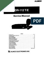 Alinco Old DR-112 Service Manual