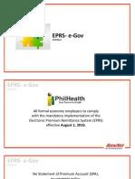 EPRS Interrim Process Orientation
