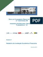 Florianópolis - Relatório Econômico Financeiro - Aeroporto