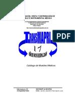 Catalogo de Muebles Medicos 2018