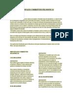 Principales Corrientes Filosoficas