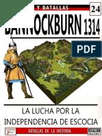 24 Bannockburn 1314 Osprey Del Prado