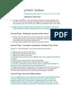 Understanding FictionmQuestions Emily Test Quiz