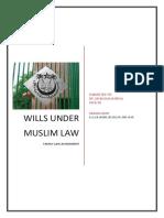 133133786 3 Wills Under Muslim Law Docx