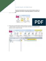 Manual de Creación de Tablas Access