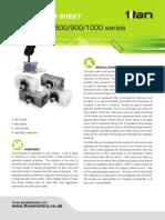 Instruction Sheet Mini Turbine 800 900 1000 Series c