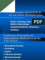 Clase 1 Bronquiectasias - Bronquitis