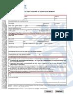 Modelo Solicitud Licencia Apertura
