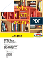 What is GATE exam?