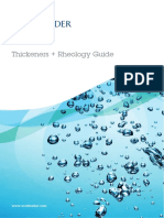 3040 Thickeners and Rheology Guide