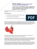 Selecting an HVAC Pump at Https